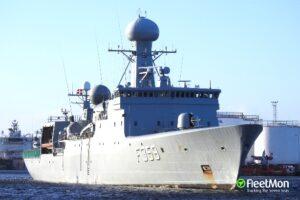 DENMARK COMBAT SHIP