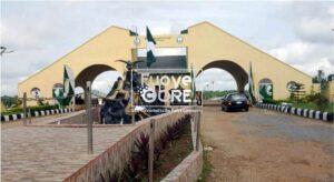 fuoye entrance gate