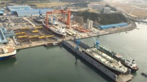 Hyundai Samho shipyard