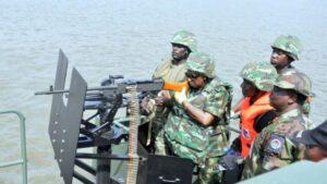 Operation Tsare Teku navy
