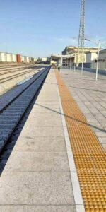 RAIL TRACK IN APAPA PORT