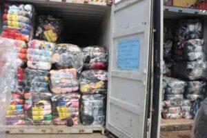 customs intercept goods
