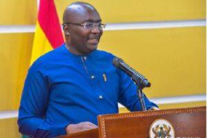 Vice President of Ghana; Dr Mahamudu Bawumia