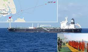 TANKER WITH 40000 TONS